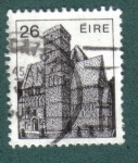 Sellos del Mundo : Europa : Irlanda :  Arquitectura Irlandeses Definitives 1982-1990