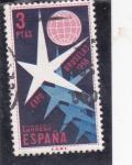 Sellos del Mundo : Europa : España :  Expo-Bruselas-58   (27)