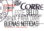 Sellos de Europa - España -  Este sello sirva para dar buenas noticias (27)