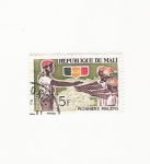 Stamps Africa - Mali -  PIONNIERS MALIENS