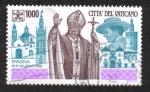 Sellos del Mundo : Europa : Vaticano : Pope John Paul II's Journeys