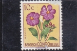 Stamps : Africa : Democratic_Republic_of_the_Congo :  Flores (Dissotis magnifica)