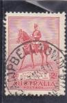 Stamps Australia -  Rey George V