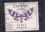 Sellos del Mundo : Europa : España :  dia del sello-mariposa