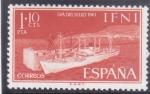 Sellos del Mundo : Europa : España :  dia del sello-transporte  maritimo