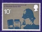 Sellos de Europa - Reino Unido -  Centenario Alexander Graham