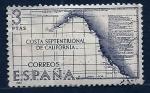 Stamps Spain -  Costa de California