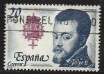 Stamps Spain -  Felipe   II
