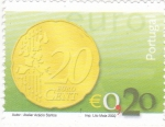 de Europa - Portugal -  moneda de 0,20 �