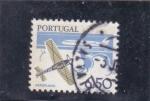 de Europa - Portugal -  avi�n de combate