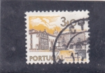 Sellos de Europa - Portugal -  Viana de Costelo panorámica