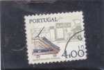 Stamps Portugal -  escritura manual