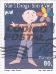 Stamps Portugal -  No a la droga- Sí a la Vida