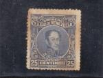Sellos de America - Venezuela -  Simóm Bolivar