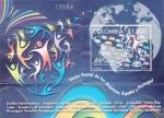 Stamps Colombia -  UPAEP-100 AÑOS UNIENDO CULTURAS
