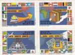 Stamps : America : Brazil :  SERVICIOS POSTALES