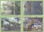 Stamps : America : Brazil :  ANIMALES PREHISTÓRICOS DE BRASIL