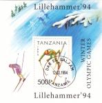 Stamps Tanzania -  OLIMPIADAS DE INVIERNO LILLEHAMMER'94