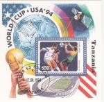 Stamps Tanzania -  COPA MUNDIAL USA'94