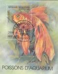 Stamps : Africa : Madagascar :  FAUNA MARINA