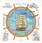 Stamps : Africa : Tanzania :  V E L E R O