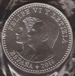 monedas del Mundo : Europa : España :  30 euros. IV Centenario Miguel de Cervantes. Felipe VI y Letizia
