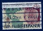 Sellos de Europa - España -  Los monarcas en el continente americano