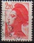 Sellos del Mundo : Europa : Francia : FRANCIA 1985 Michel 2510 Sello Serie Basica Yvert2376