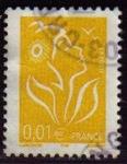 Sellos del Mundo : Europa : Francia : FRANCIA 2005 Michel 3884 Sello Serie Basica Marianne Phil@poste Usado