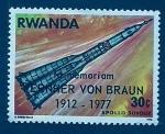 Sellos de Africa - Rwanda -  Memoria de Von Braun