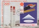 Sellos de America - Yemen -  OLIMPIADA DE INVIERNO SAPPORO-72