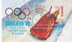 Sellos de America - Laos -  OLIMPIADA DE INVIERNO SARAJEVO'84
