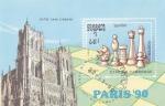 Stamps : Europe : Cambodia :  CAMPEONATO AJEDREZ PARIS