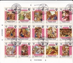 Stamps : Asia : Yemen :  LA VIDA DE CRISTO