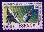 Stamps : Europe : Spain :  Dia mundial telecomunicaciones