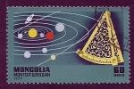 Sellos de Asia - Mongolia -  Satelite Comunicacion