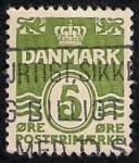 Stamps Denmark -  Cifras