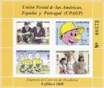 Stamps : America : Honduras :  U P A E P