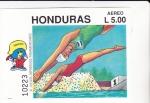Stamps : America : Honduras :  XI JUEGOS PANAMERICANOS