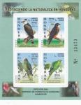 Stamps : America : Honduras :  AVES-UPAEP