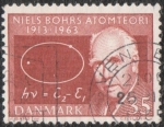 Sellos de Europa - Dinamarca -  Niels Bohr