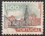 Sellos del Mundo : Europa : Portugal : Porto. Torre dos clerigos