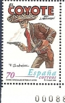 Stamps Spain -  Comics - El Coyote