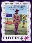 Sellos de Africa - Liberia -    SCOUTS