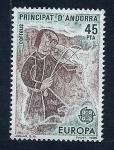 Sellos de Europa - Andorra -  Joglar Siglo  XII