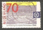 Stamps Netherlands -  Parlamento europeo