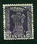 Stamps India -  Columnas de Asoca