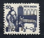 Stamps India -  Produccion Lactea