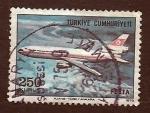 Stamps Turkey -  Avion