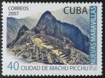 Stamps Cuba -   PERU: Santuario histórico de Machu Picchu